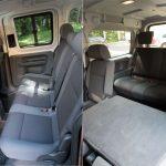Салон минивэна Volkswagen Caddy